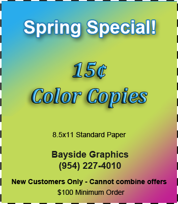 Color Copy Special Coral Springs